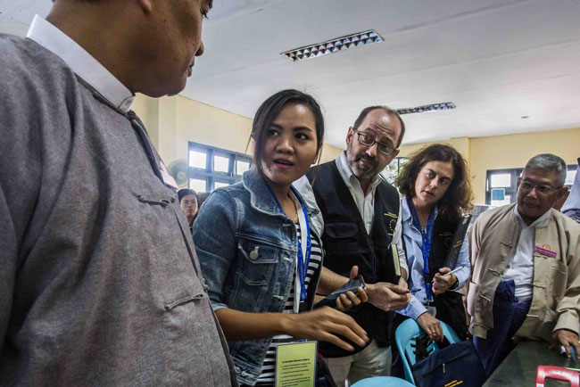 EU deployed election observation mission to Myanmar
