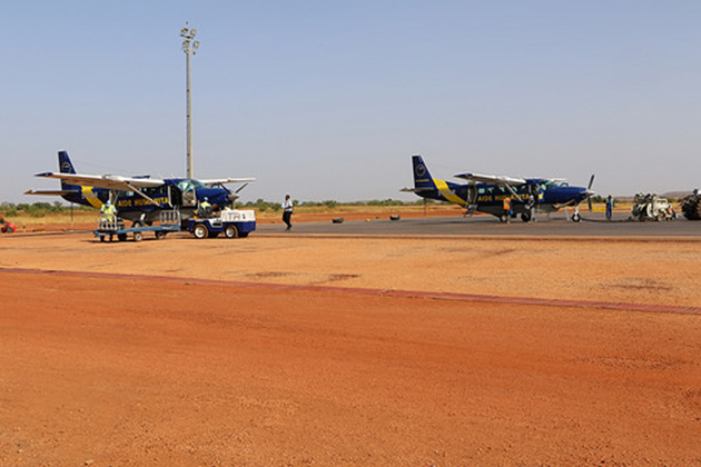 Increasing humanitarian access in northern Mali with EU air services
