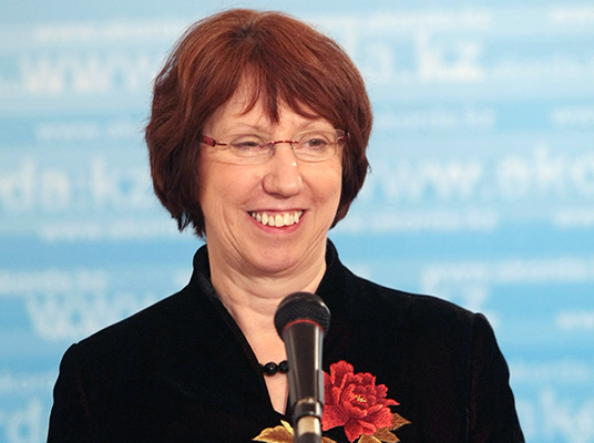 Catherine Ashton, High Representative of the Union for Foreign Affairs and Security Policy 2009 - 2014