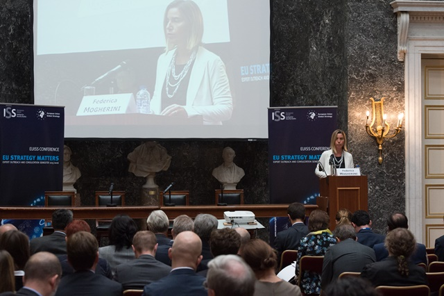 High Representative/Vice-President Federica Mogherini at the EUISS Annual Conference
