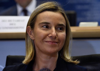 Federica Mogherini, EU High Representative for Foreign Affairs and Security Policy and Vice President of the European Commission