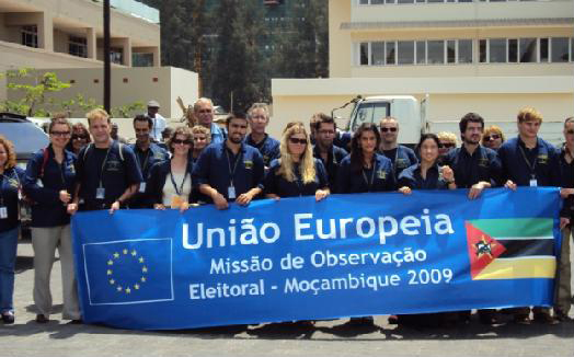 Group photo of short-term observers